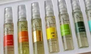 Coffret d'huiles essentielles pour massages