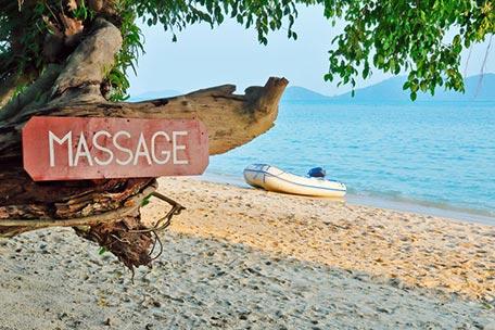 Séjours ressource avec massage